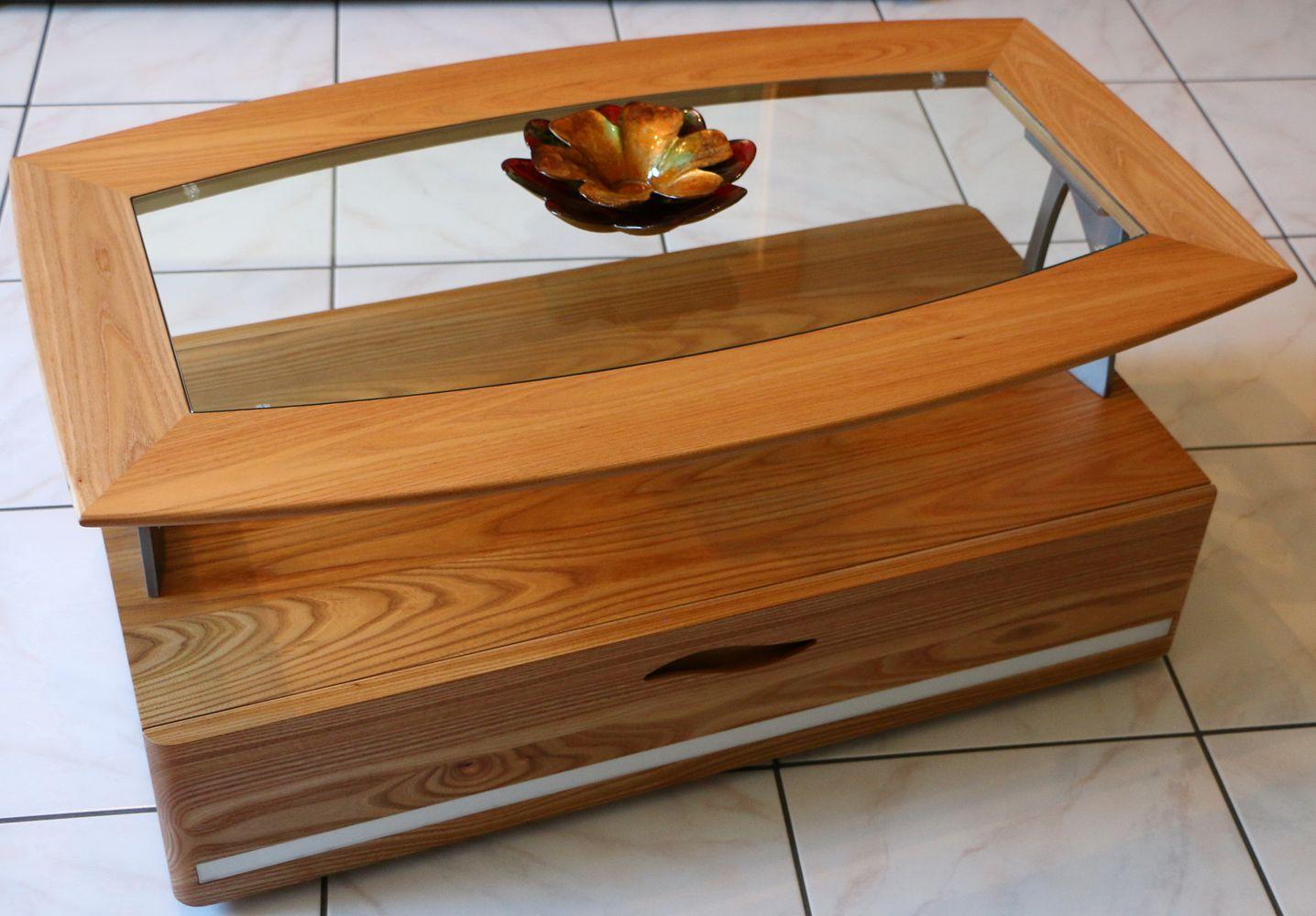 Table De Salon Orme # Meubles Tv En Bois D'Orme